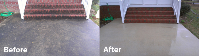 Brick concrete cleaning for How to get concrete clean
